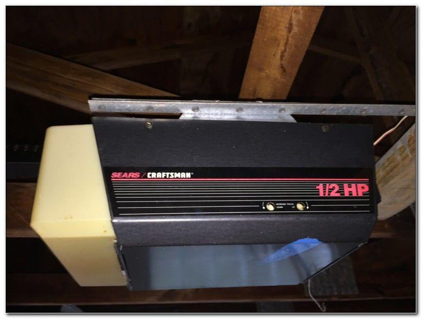 Programming Older Sears Garage Door Opener Check More At Https