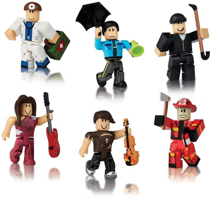 Roblox 6 Figure Multi Pack Assortment Roblox Iconic Characters