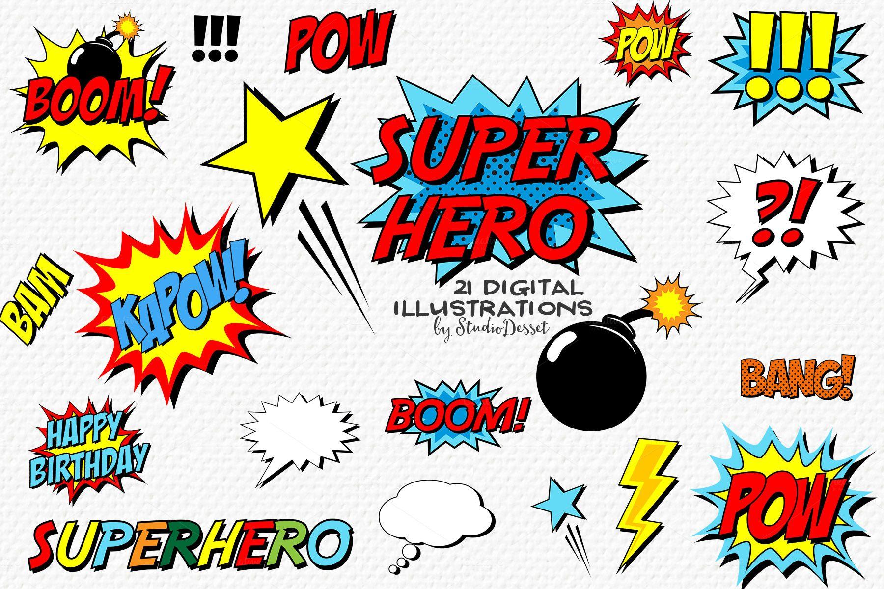 Charmant Superhero Einladungsvorlagen Zeitgenössisch - Beispiel ...
