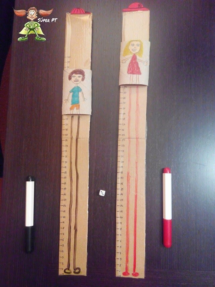 giants race: maths fun. Great game to practice maths. kids throw the ...