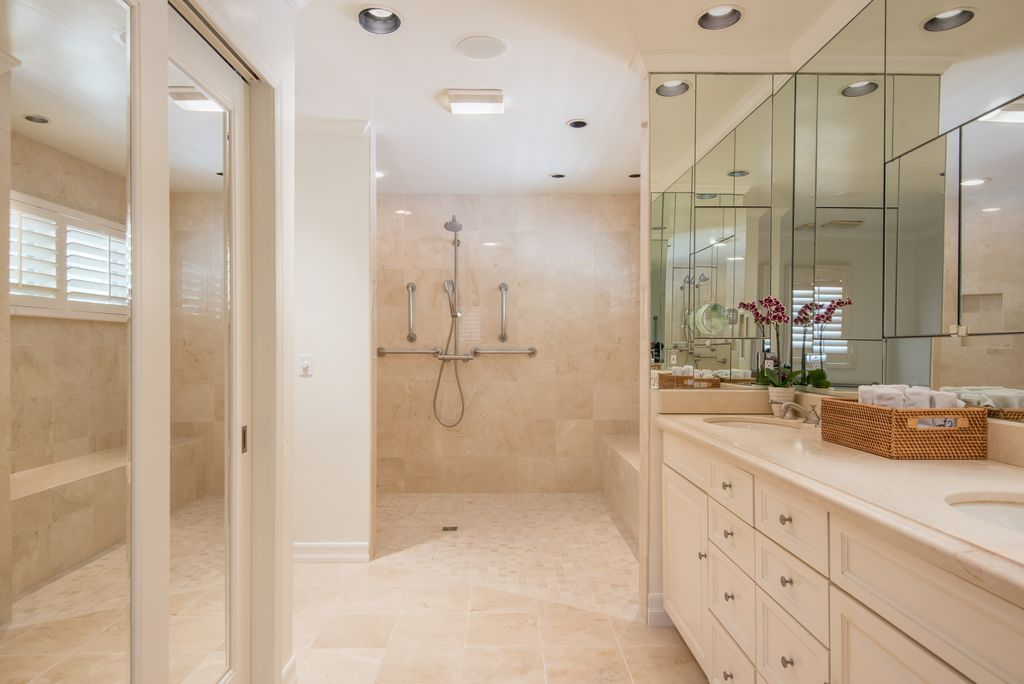 View this Great Master Bathroom with flush