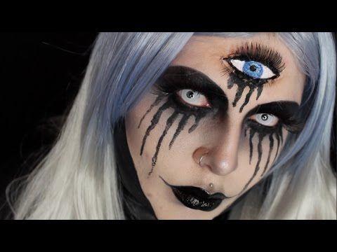 third eye halloween tutorial  makeup in 2019  halloween