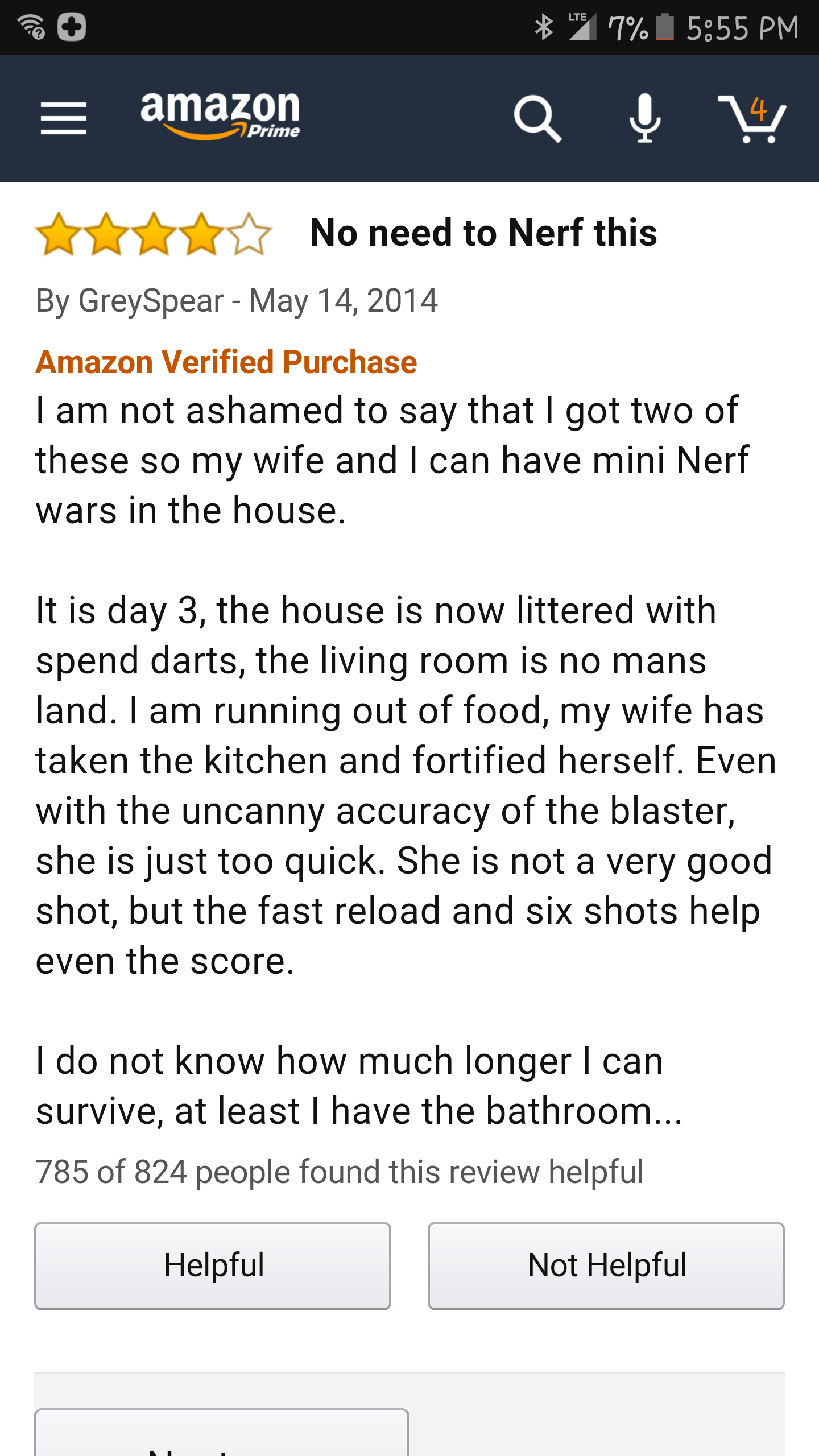 This guy knows how to Nerf.   http://ift.tt/2d9MkRS via /r/funny http://ift.tt/2cM3DoF  funny pictures