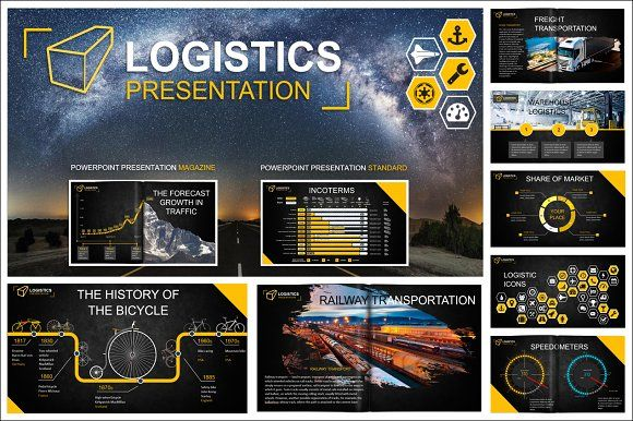 Logistics powerpoint template by designlab on creativemarket logistics powerpoint template templates logistics powerpoint templatethe most extensive collection to design the logistic presentatio by designlab toneelgroepblik Images