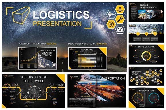 Logistics powerpoint template mockup template and presentation logistics powerpoint template by designlab on creativemarket toneelgroepblik Images