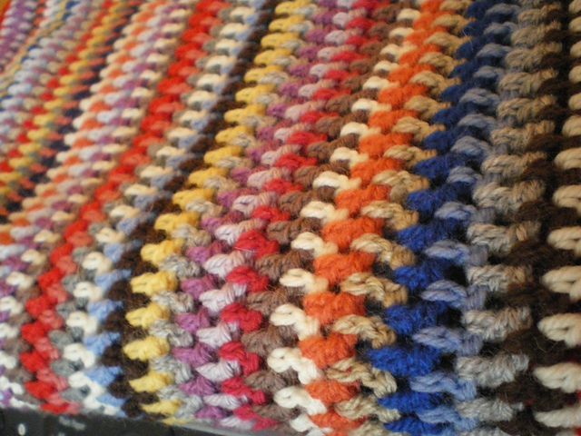 Ravelry: Project Gallery for Vintage Vertical Stripe Crocheted ...