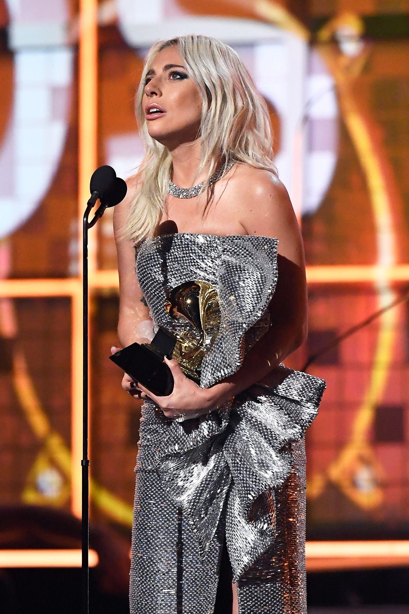 Lady Gaga Grammys 2019 Lady Gaga In 2019 Lady Gaga