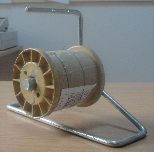 Spool holder for wire | Beehive Tending Equipment | Pinterest