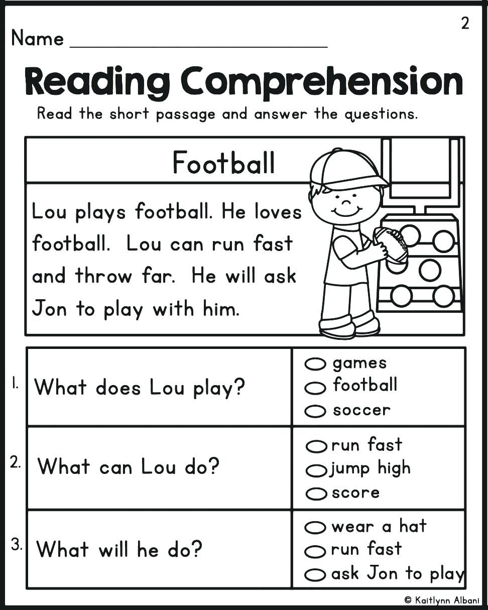 - Reading Comprehension Kindergarten Image By Stephanie Taylor On