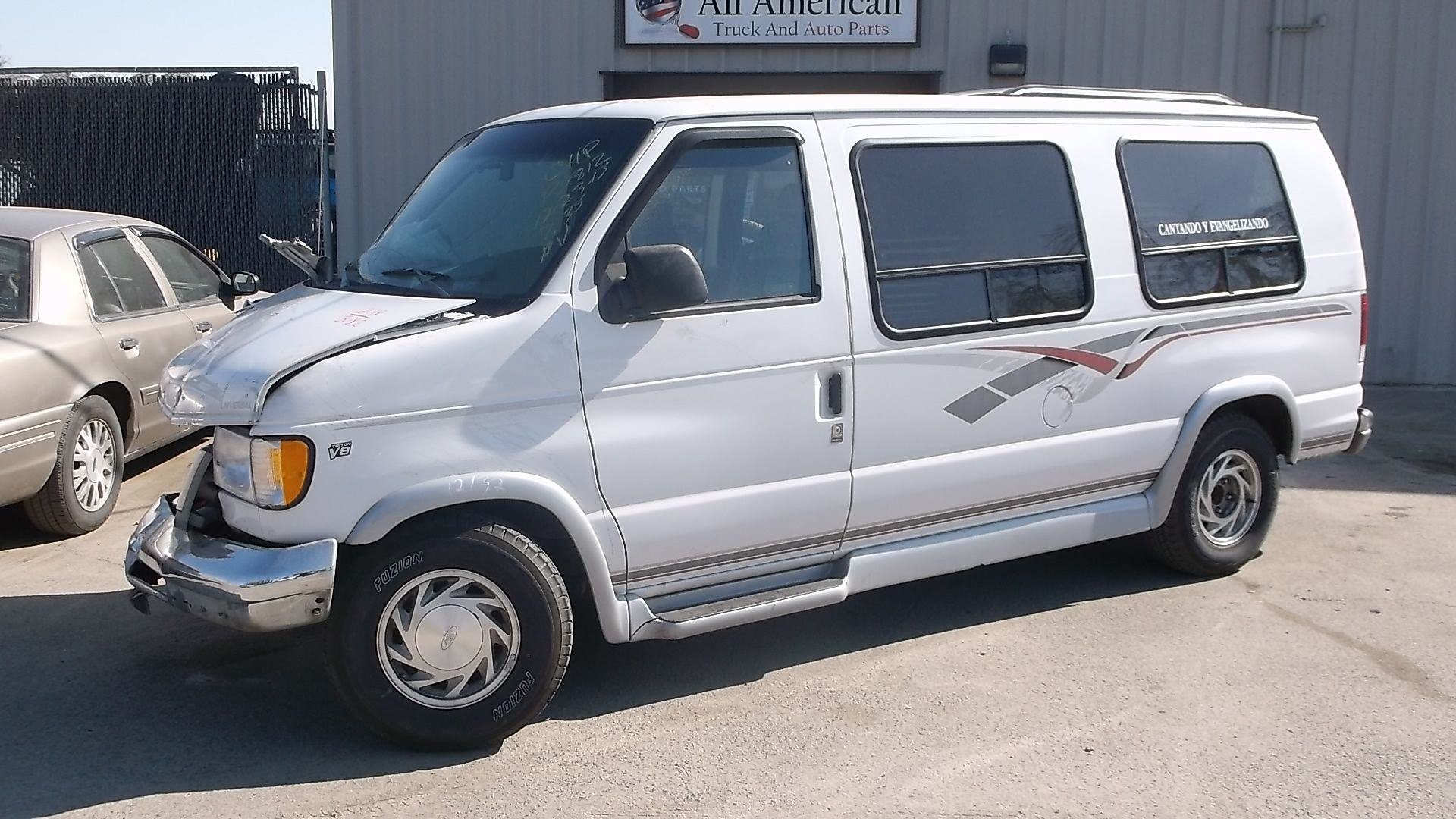 1998 Ford Econoline E150 5 4l With 103k Miles Ford Cold Air