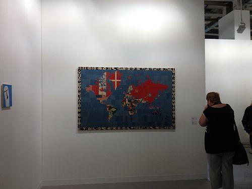 Boetti #ArtBasel 2012, Gladstone Gallery