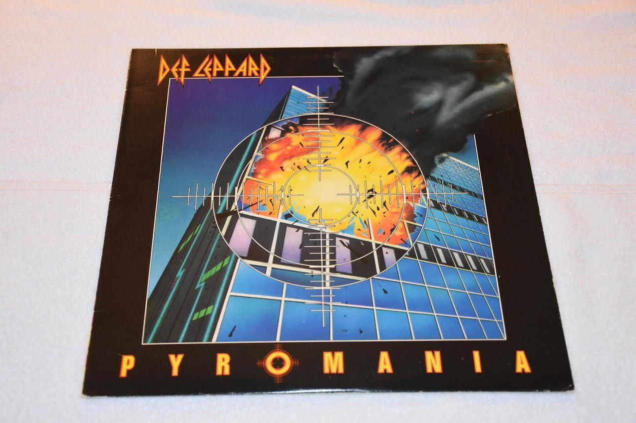 Def Leppard Pyromania Lp Album Record Vinyl Lp Albums Def Leppard Def Leppard Pyromania