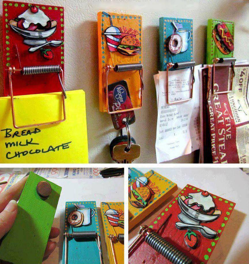 Cadeaux Fete Des Peres en ce qui concerne easy diy mouse trap clips | cadeaux f�te des p�res, le pere et p�res