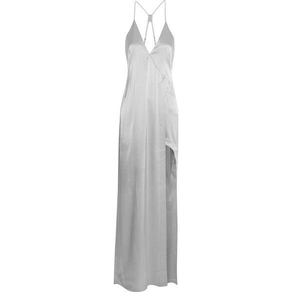 Halston Heritage Woman Satin-crepe Dress Orange Size 10 Halston Heritage CLlULfX
