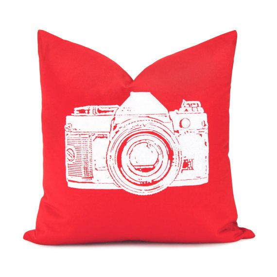 Red And White Decorative Pillow Case White By ClassicByNature Stunning Red And White Decorative Pillows