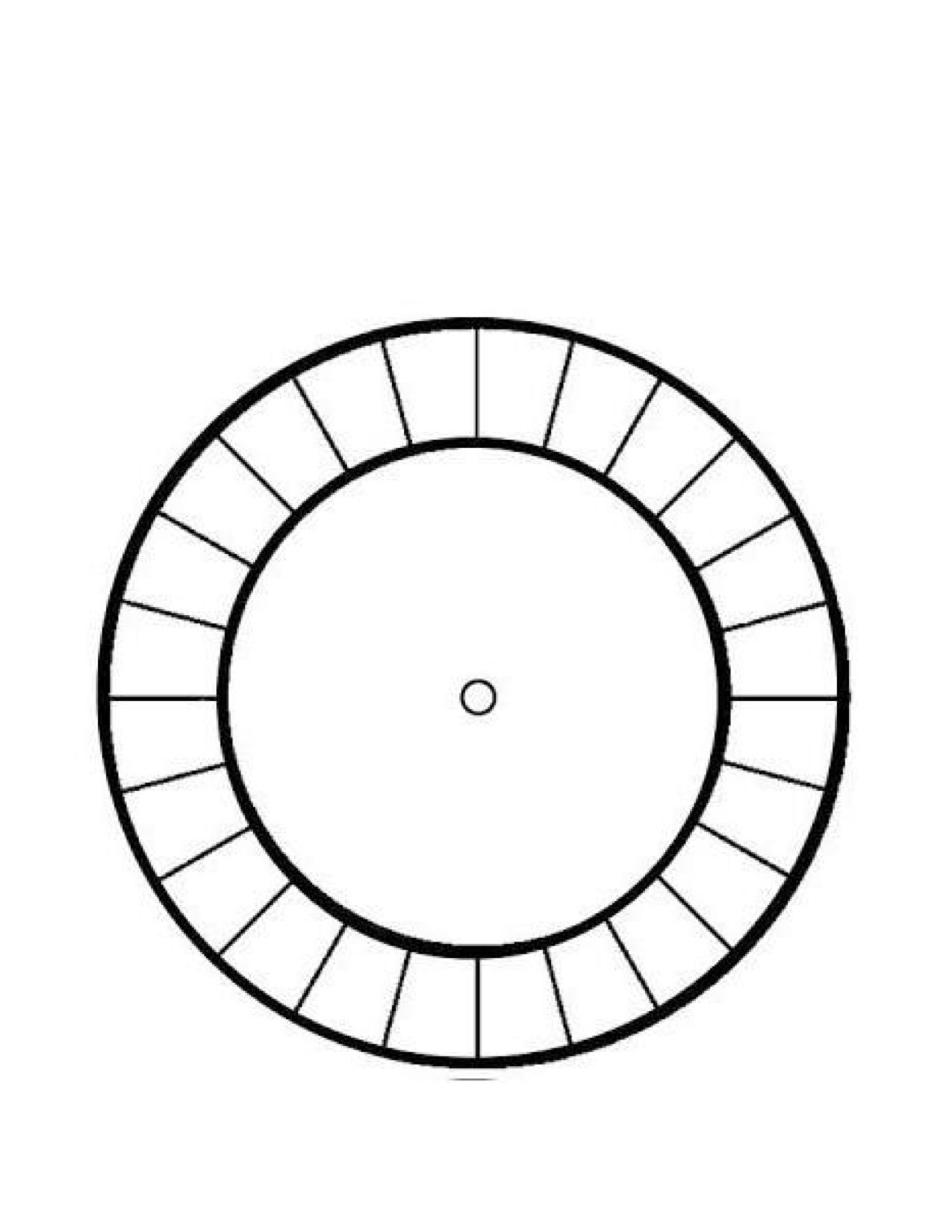 Cipher Wheel Template Part 1