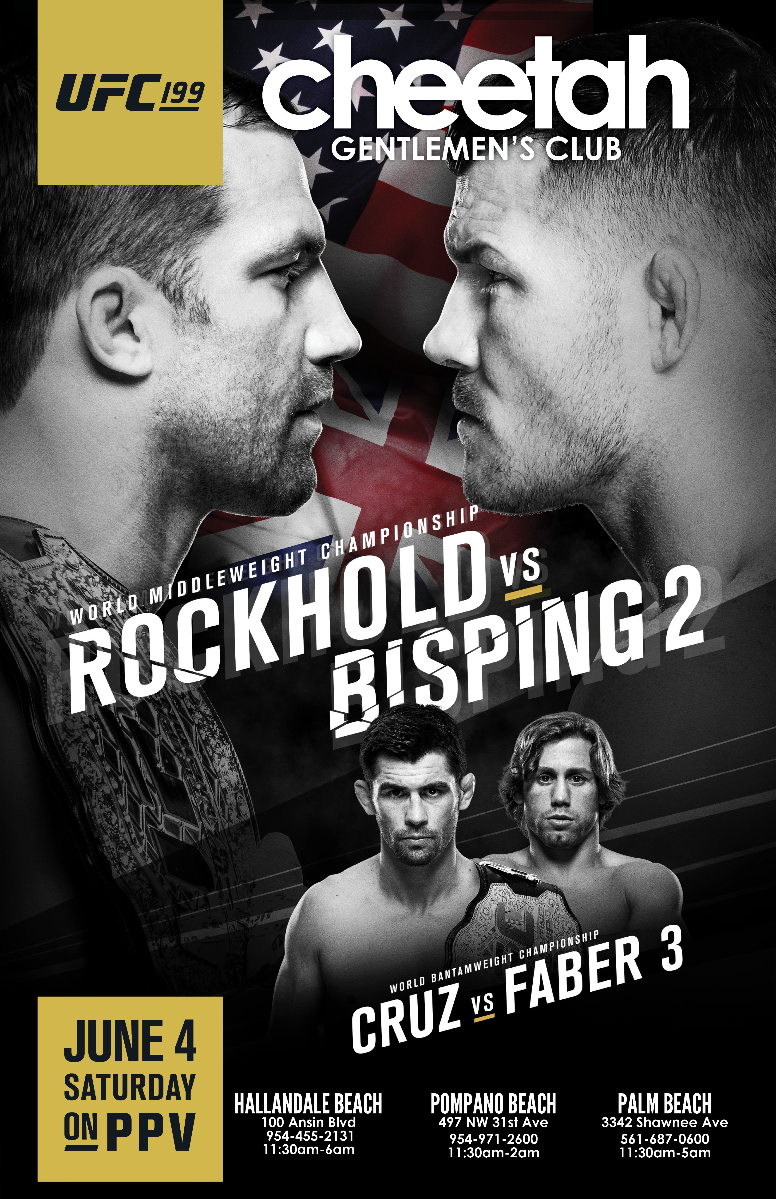 Ufc 199 Saturday June 4th Rockhold Vs Bisping 2 Watch It Here Live Ufc 199 World Middleweight Championship Rockhold Ufc Ufc Poster Mixed Martial Arts