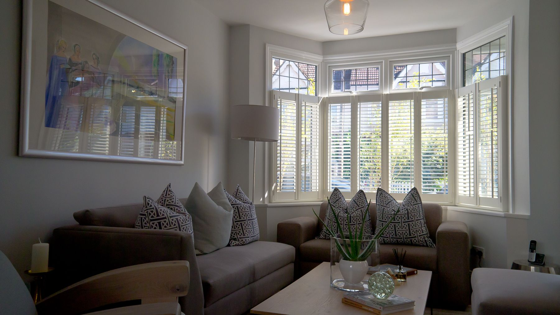 Cafe Style Shutters in Hardwood.   Cafe style shutters ...