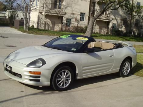 Used Mitsubishi Eclipse Convertible For Sale In Texas For Only - Mitsubishi texas