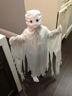 kids ghost costume diy more