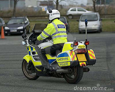 Aggressive Hi Viz On Uk Police Bikes Police Motorcycle