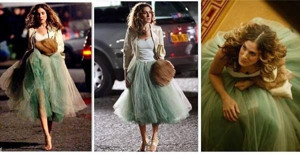 Spodnice Tiulowe Inspirujaca Ekstrawagancja W Bellcaro Tulle Skirt Carrie Bradshaw Tulle