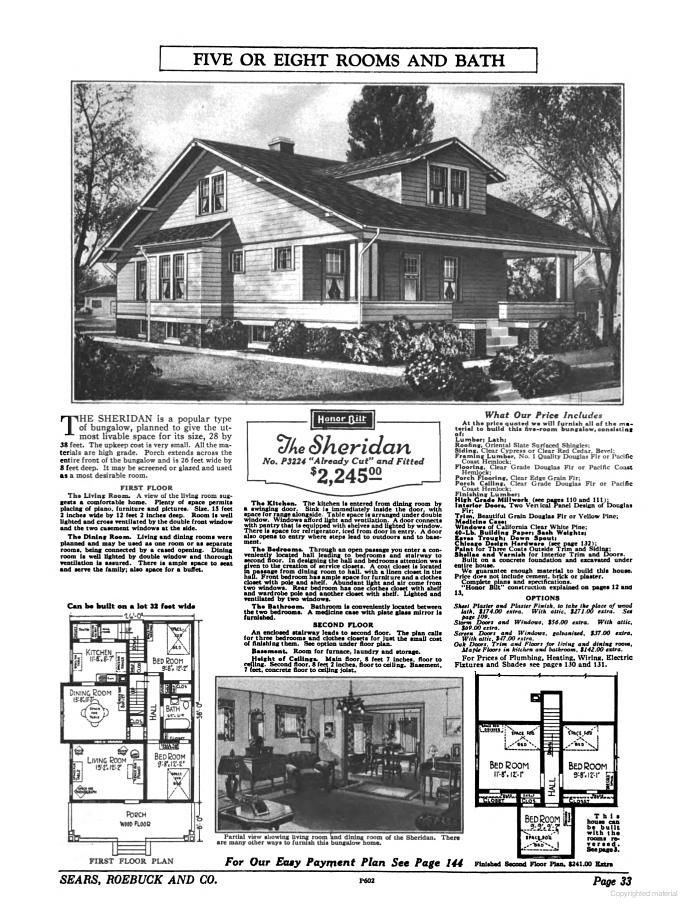 Small Houses of the Twenties The Sears Roebuck 1926 House
