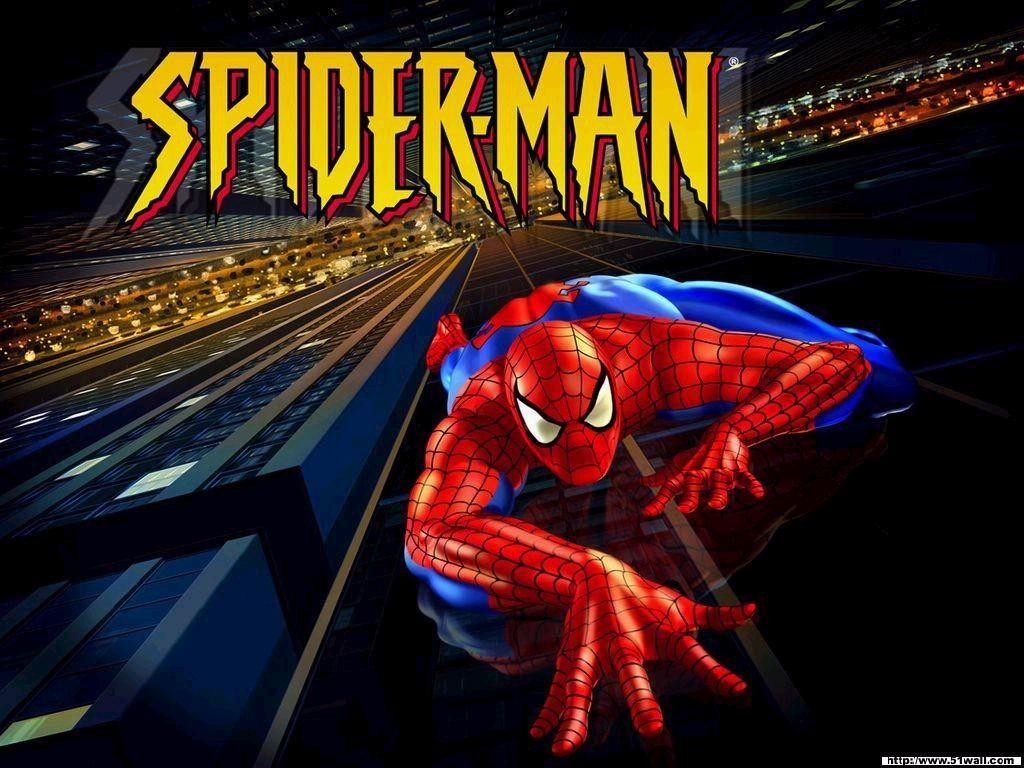 Spiderman Climbin Up The Wall Spider Man Animated Series Spiderman Spiderman Cartoon