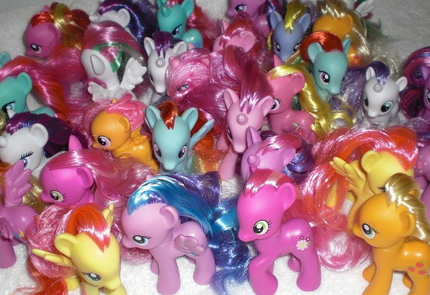 My Little Pony Fim Brony G4 Brushable Individual Vinyl Figures You Pick Vinyl Figures My Little Pony Brony