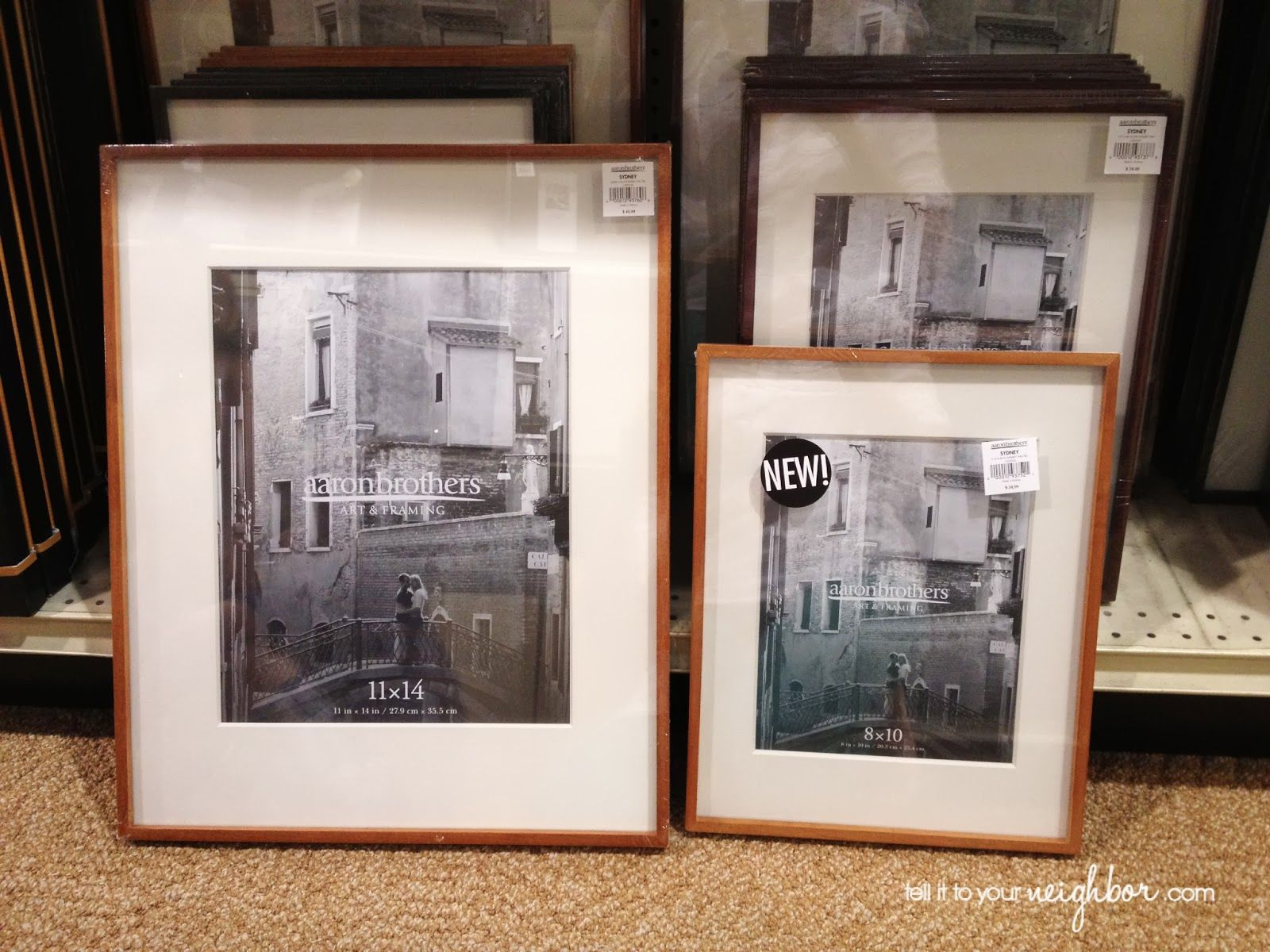 tell it to your neighbor! Sydney wall frame Aaron brothers | Art ...