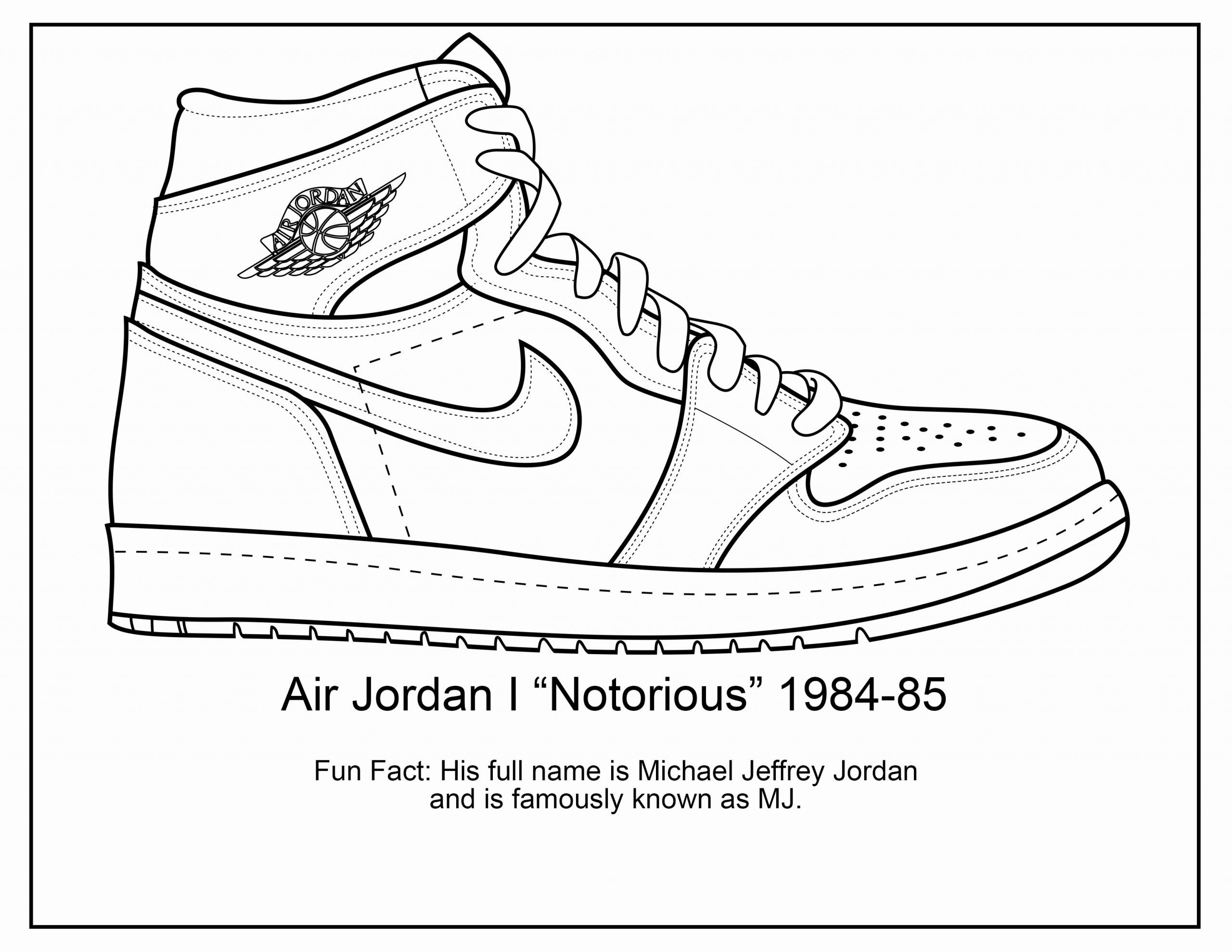 Jordan Shoe Coloring Book New Pin On Scroll Saw Projects Sneakers Illustration Sneakers Sketch Best Sneakers