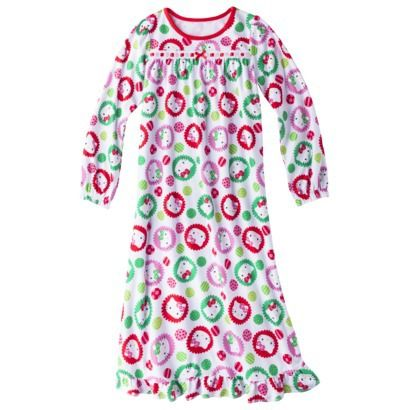 Hello Kitty Girls  Sleep Gown - White  a29eb0557