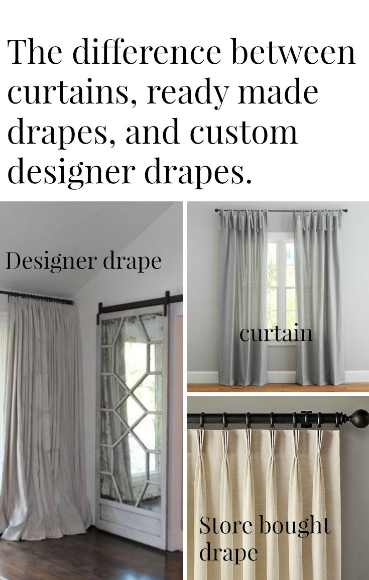 The Difference Between Drapes And Curtains Curtains Designer