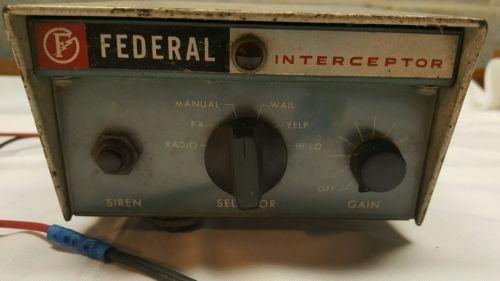Vintage Federal Signal Interceptor Police Car Siren Model PA20A https://t.co/JH4rWrii3D https://t.co/G2rm3aI8zo