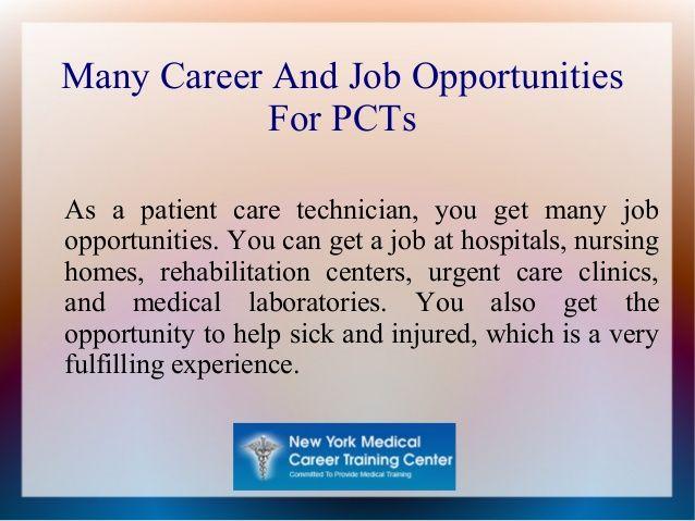 Patient Care Technicians as a Profession nursing info - patient care technician job description