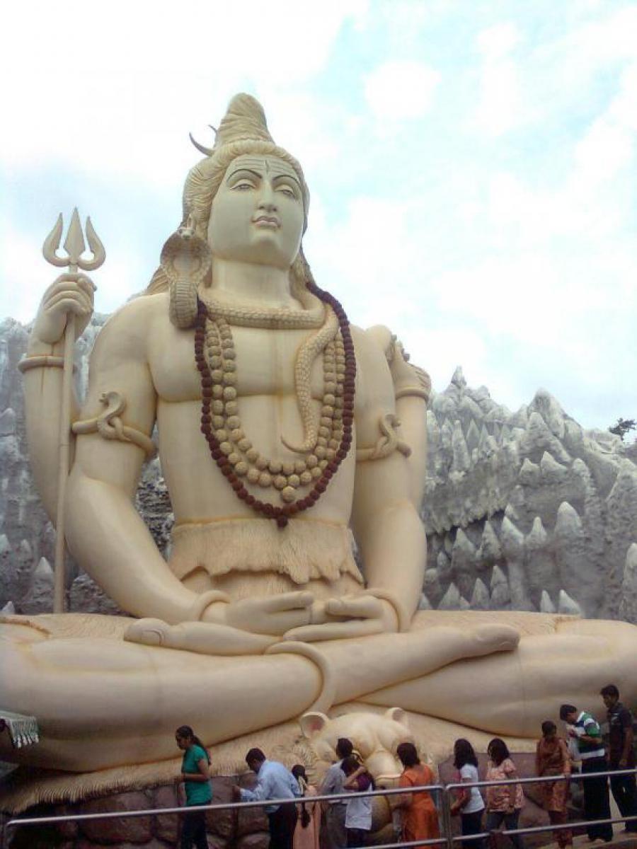 Hindu place of worship - Kemp Fort in Bangalore, India