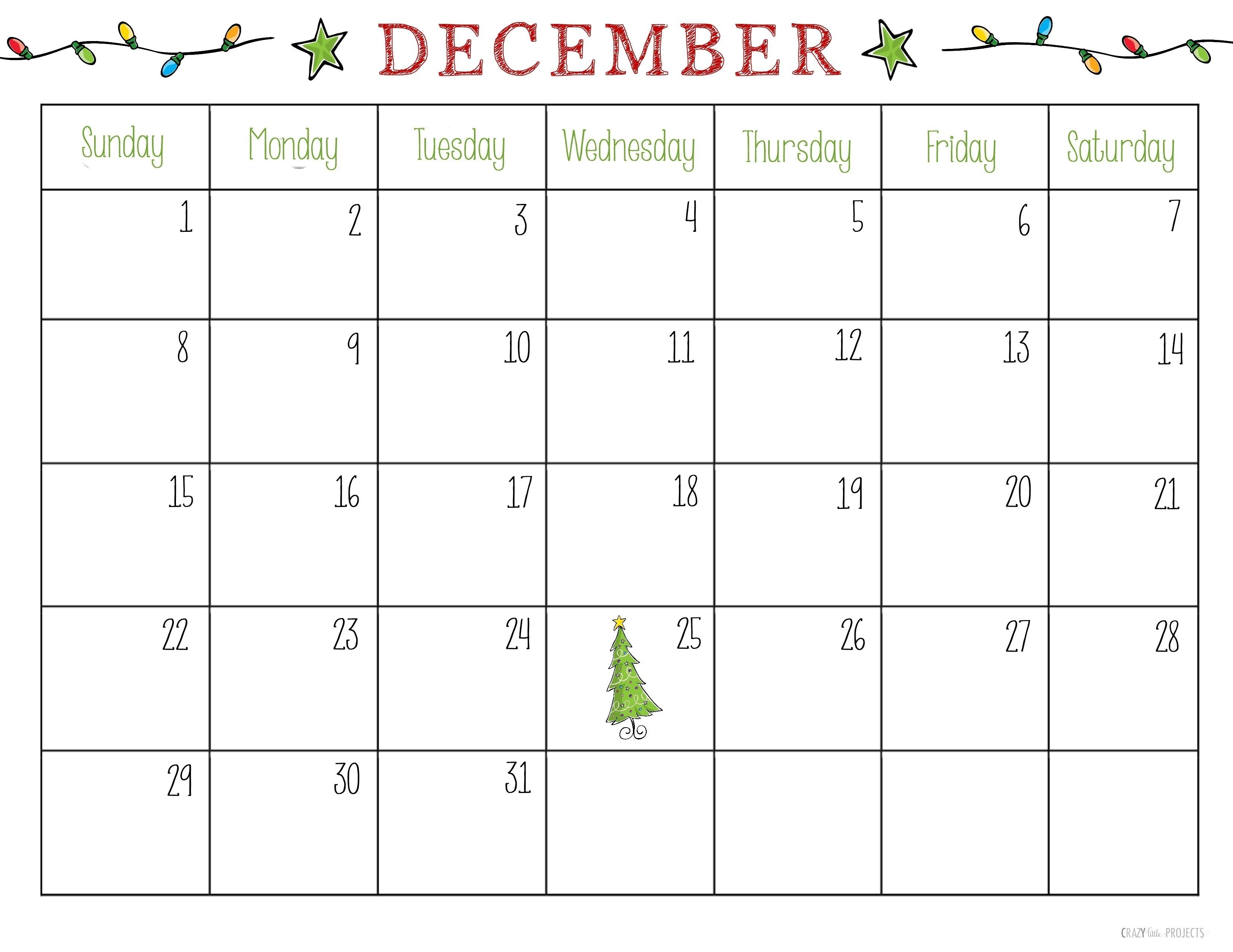 December 2018 Calendar Printable Pretty December 2019 Calendar