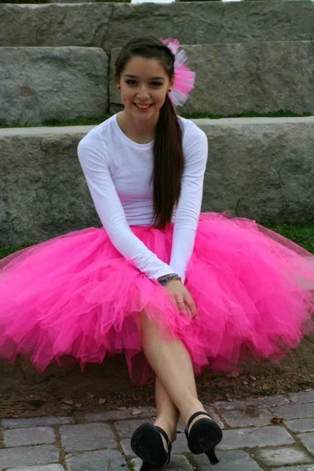 New Women Teen Organza Dancewear Tutu Ballet Pettiskirt Princess Party Skirt MG