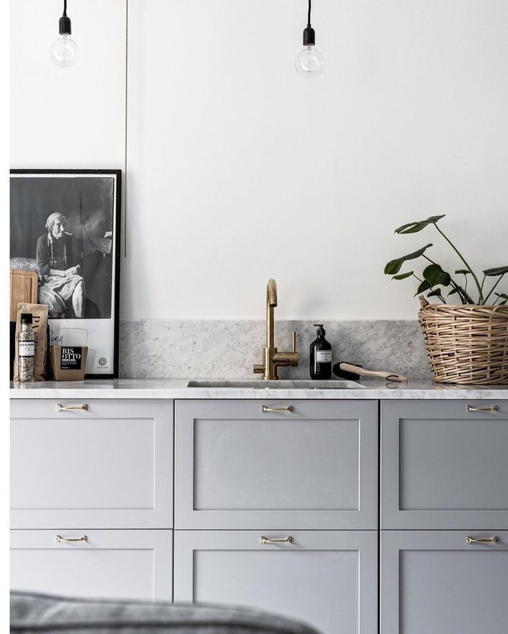 This kitchen has nailed the perfect shade of grey. | Der perfekte ...
