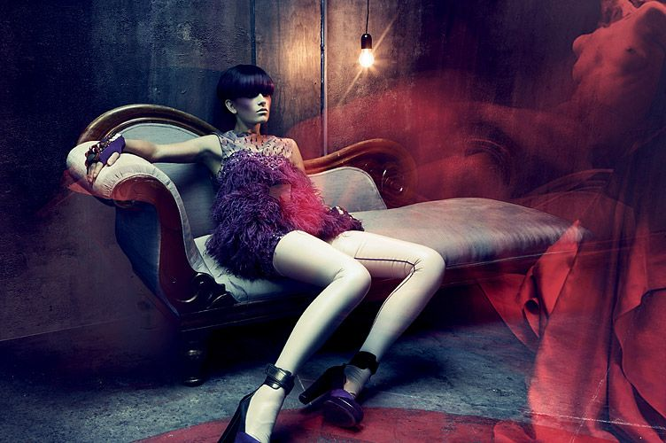 THE ROYAL FAMILIA: Paris based Fashion Photographer Bruno Dayan