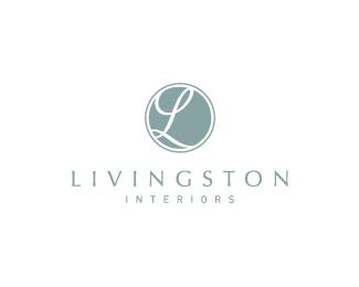 Livingston Interiors Logo Design