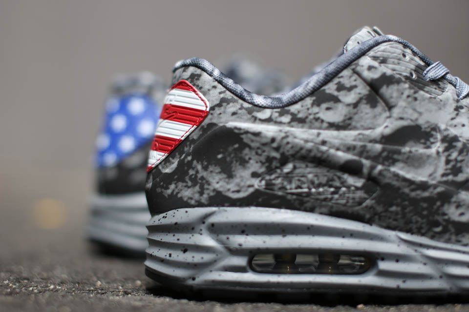 Wholesale Price for Nike Air Max Lunar 90 SP Moon Landing Special Eidtion Neil Armstrong Gray White 2015 sale