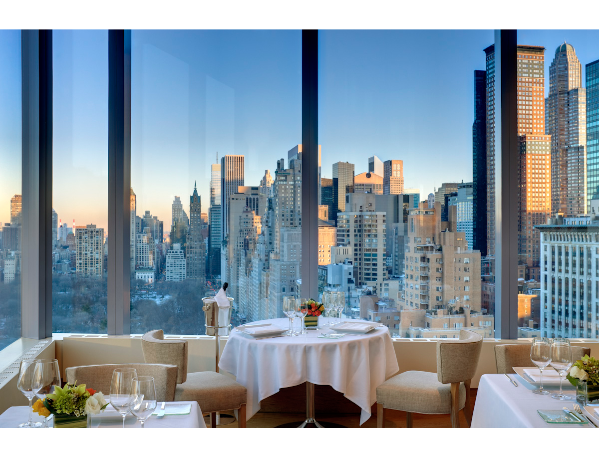 Asiate Restaurant | Mandarin Oriental Hotel, New York/ ¡Cenar con ...