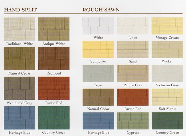 What Paint Colors Look Like On Rough Cut Amp Hand Split