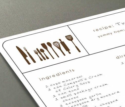 Editable Recipe Cards Recipe Cards Template Recipe Cards Printable Free Printable Recipe Cards