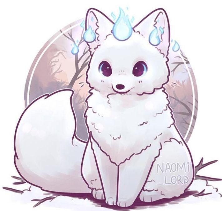 Anime Animals In 2020 Cute Animal Drawings Cute Kawaii Drawings Cute Animal Drawings Kawaii