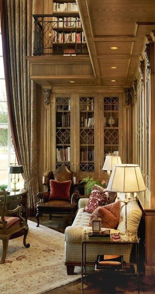 Private Library Study Rooms: Pin By Sadaf Barry On Zahra Drawing Room