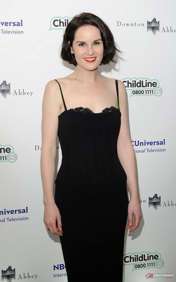 Michelle at the Downton Abbey Childline Ball