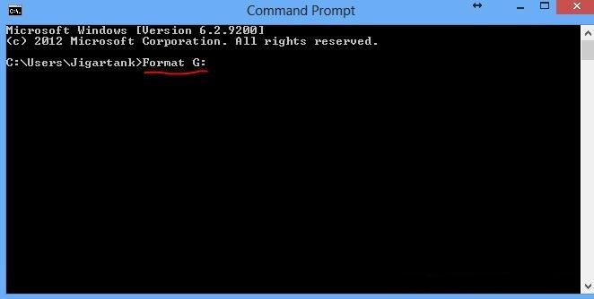 convert raw sd to ntfs or fat32 by using cmd