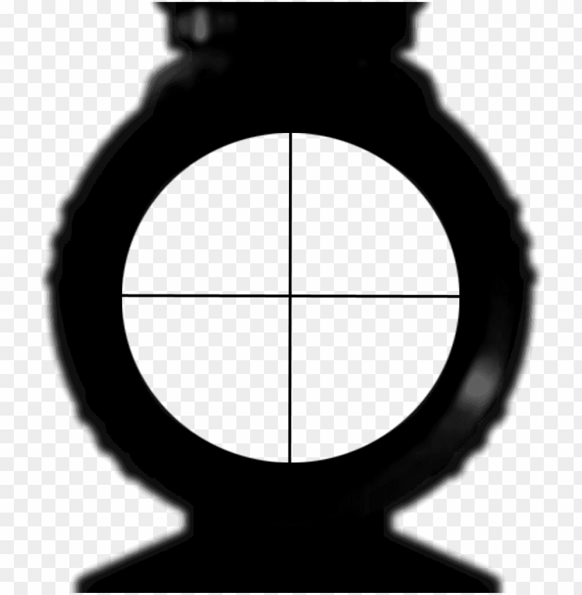scope png sniper scope no background PNG image with